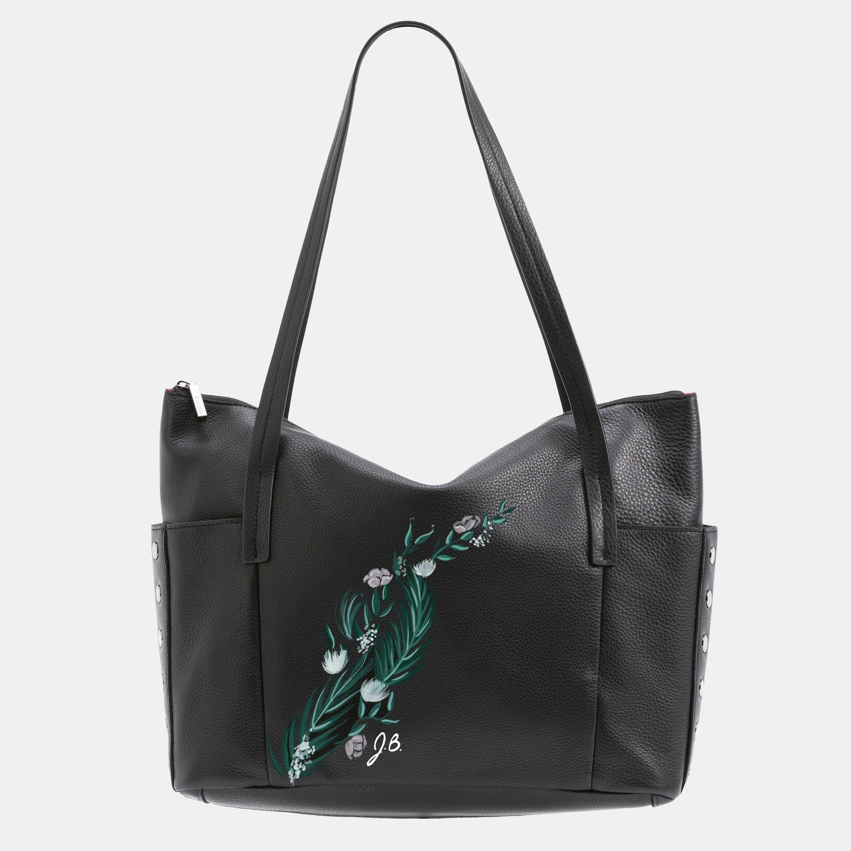 Addie-Lrg-Black-Floral-Front-View