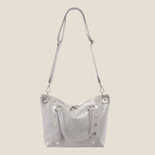 Load image into Gallery viewer, Daniel-Med-Marble-Grey-Crossbody-View