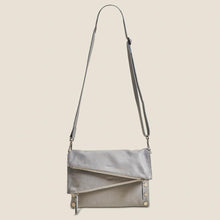 Load image into Gallery viewer, Dillon-Med-Marble-Grey-Crossbody-View
