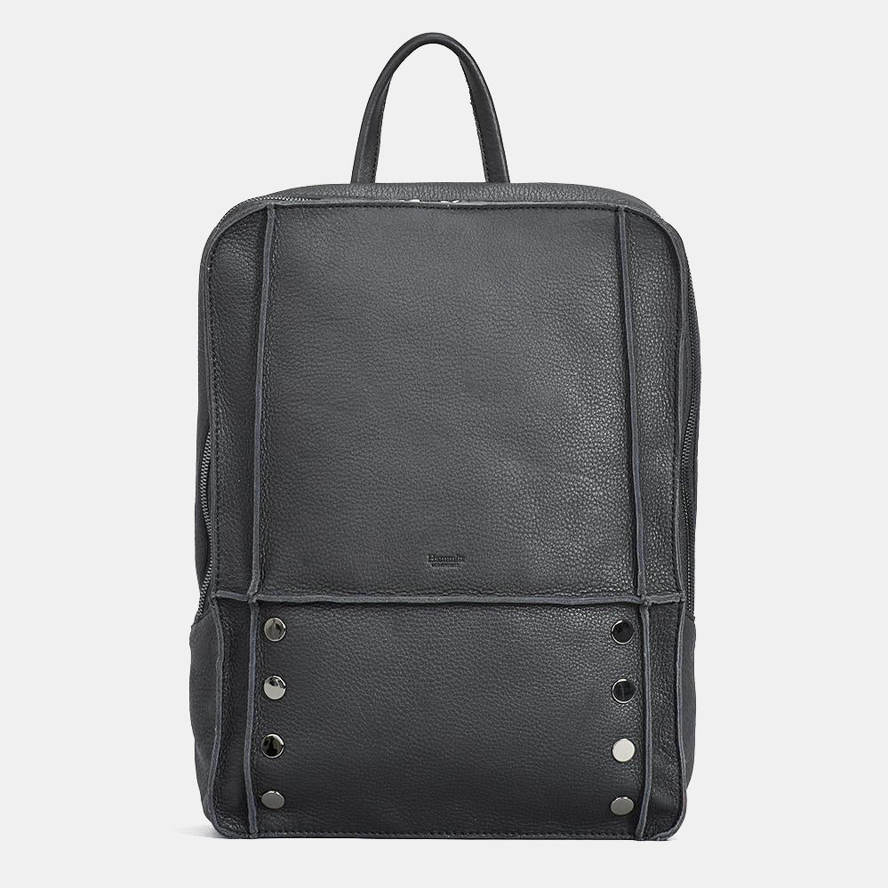 Hunter-Backpack-Black-Front-View