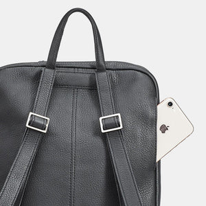 Hunter-Backpack-Black-Detail-View
