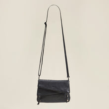 Load image into Gallery viewer, Dillon-Sml-Blk-GM-Crossbody-View