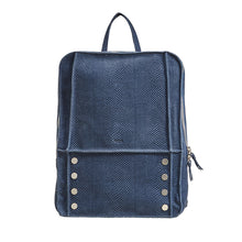 Load image into Gallery viewer, Hunter-Backpack-Indigo-Front-View