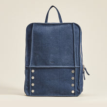 Load image into Gallery viewer, Hunter-Backpack-Indigo-Front-View-2
