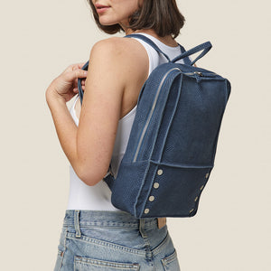 Hunter-Backpack-Indigo-Model-View