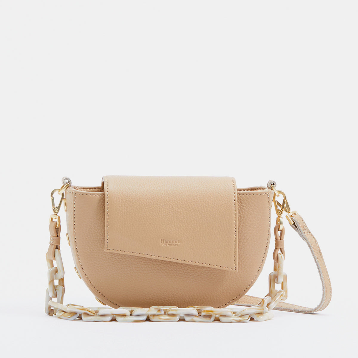 Neil Crossbody | Toast Tan/Brushed Gold