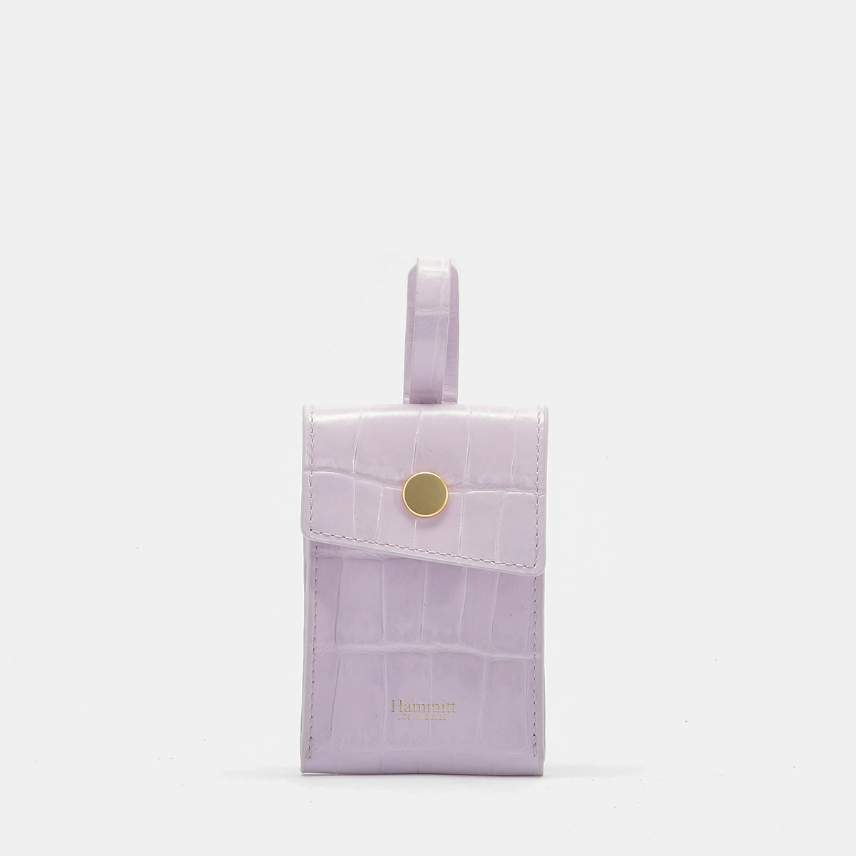 Sally Bag Tag | Lilac/Brushed Gold