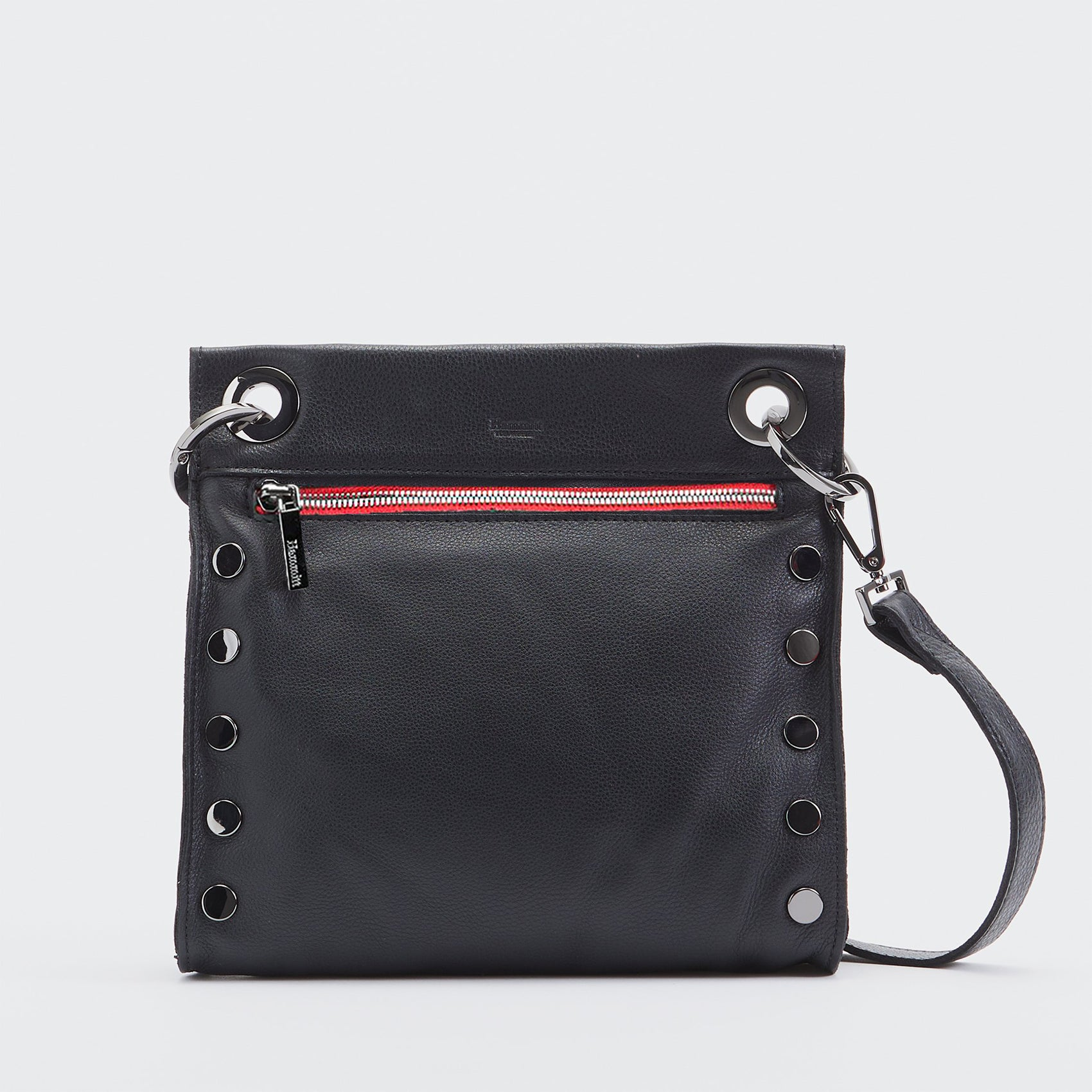 Tony | Black/Gunmetal Red-Zip | Med