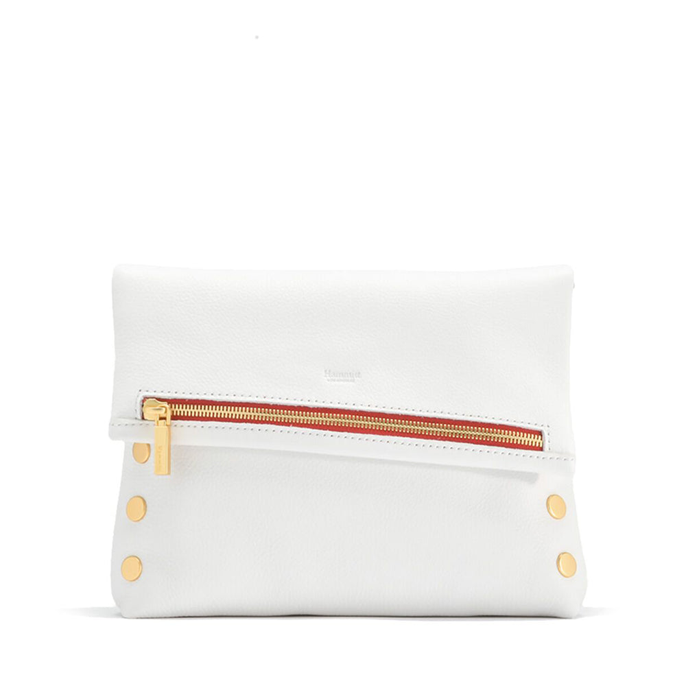 vip-med-ceramic-white-bg-r-zip-clutch-front-view