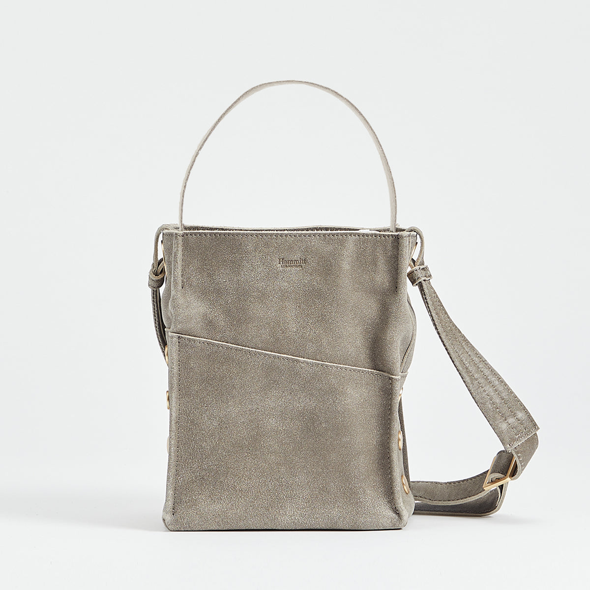 Davis | Pewter/Brushed Gold | Sml