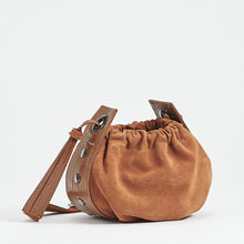 Load image into Gallery viewer, Cooper-Cognac-Suede-Back-View