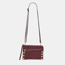 Load image into Gallery viewer, Nash-Sml-2-Plum-Croco-Crossbody-View