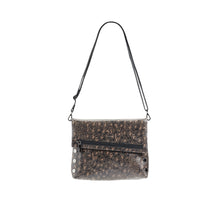 Load image into Gallery viewer, VIP-Med-Black-Leopard-Crossbody-View