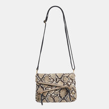 Load image into Gallery viewer, Dillon-Sml-Domino-Snake-Crossbody-View