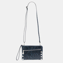Load image into Gallery viewer, Nash-Sml-2-French-Navy-Snake-Crossbody-View
