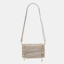Load image into Gallery viewer, Levy-Grey-Natural-Crossbody-View