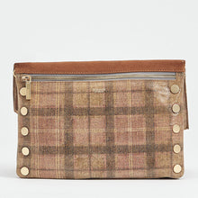 Load image into Gallery viewer, Dillon-Med-Cognac-Plaid-Back-View