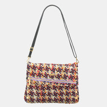 Load image into Gallery viewer, VIP-Lrg-Electric-Tweed-Crossbody-View