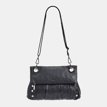 Load image into Gallery viewer, VIP-Montana-Med-Black-Fold-Crossbody-View