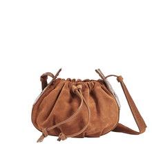 Load image into Gallery viewer, Cooper-Cognac-Suede-Front-View