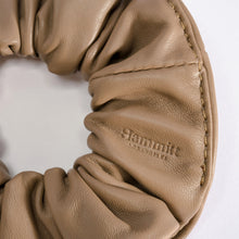 Load image into Gallery viewer, Scrunchie-Sml-Taupe-Detail-View