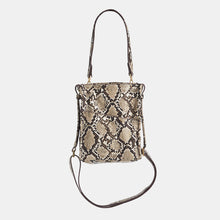Load image into Gallery viewer, Davis-Sml-Domino-Snake-Crossbody-View