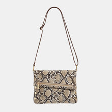 Load image into Gallery viewer, VIP-Med-Domino-Snake-Crossbody-View