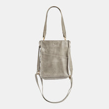 Load image into Gallery viewer, Davis-Sml-Pewter-Crossbody-View