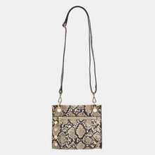Load image into Gallery viewer, Tony-Sml-Domino-Snake-Crossbody-View