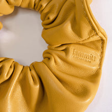 Load image into Gallery viewer, Scrunchie-Sml-Yellow-Detail-View