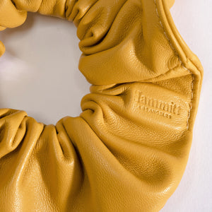 Scrunchie-Sml-Yellow-Detail-View