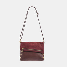 Load image into Gallery viewer, VIP-Med-Plum-Croco-Crossbody-View