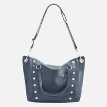Load image into Gallery viewer, Daniel-Lrg-French-Navy-Crossbody-View