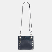 Load image into Gallery viewer, Tony-Sml-French-Navy-Snake-Crossbody-View