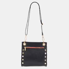 Load image into Gallery viewer, Tony-Med-Blk-BG-R-Zip-Crossbody-View