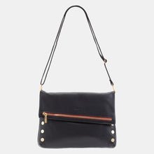 Load image into Gallery viewer, VIP-Lrg-Blk-BG-R-Zip-Crossbody-View