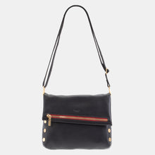 Load image into Gallery viewer, VIP-Blk-BG-R-Zip-Crossbody-View