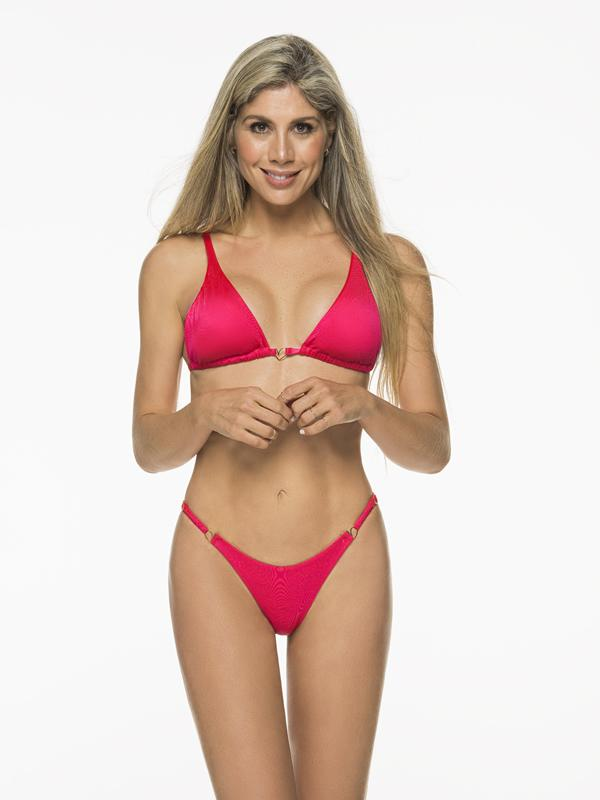 Montoya Apparel & Accessories > Clothing > Swimwear Liliana Montoya Cherry Bikini Marinera Tops Bikini Swimwear Separate