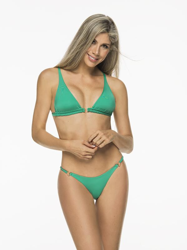 Montoya Apparel & Accessories > Clothing > Swimwear Liliana Montoya Green Grass Bikini Marinera Top Double Straps Bikini Swimwear Separate