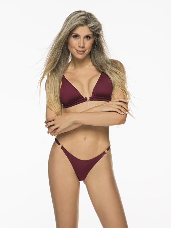 Montoya Apparel & Accessories > Clothing > Swimwear Liliana Montoya Tinto Bikini Marinera Top Double Straps Bikini Swimwear Separate