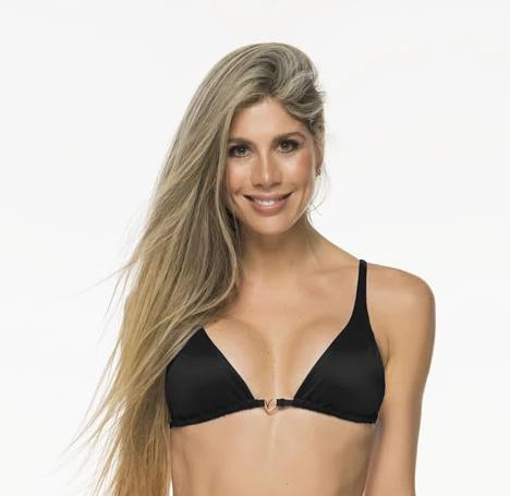 Montoya Apparel & Accessories > Clothing > Swimwear Small / Black Liliana Montoya Black Bikini Marinera Shiny Tops Bikini Swimwear Separate Liliana Montoya Black Bikini Marinera Shiny Tops Bikini Swimwea