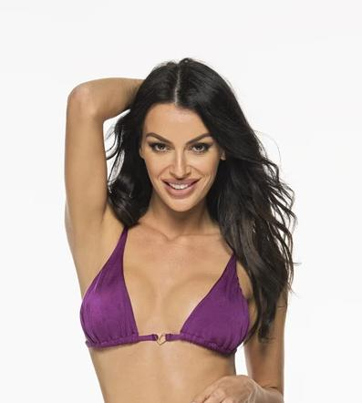 Liliana Montoya Purpura Bikini Marinera Tops Bikini Swimwear Separate