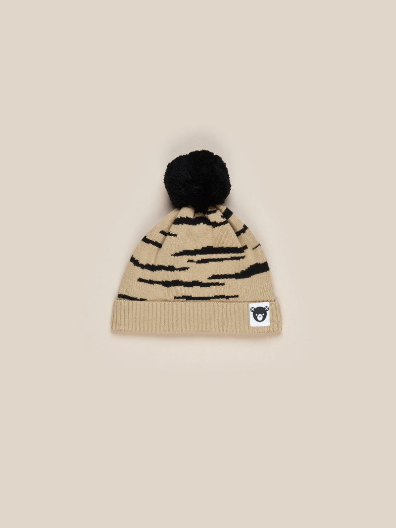 Huxbaby - HONEY WILDCAT KNIT BEANIE