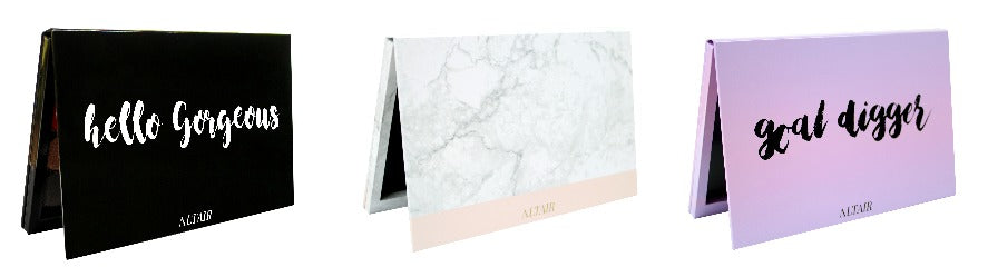 Altair Beauty empty magnetic palettes