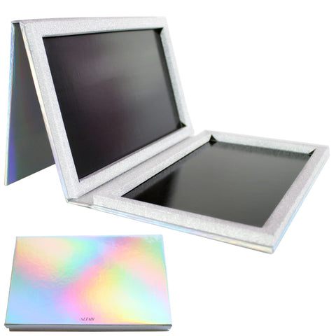 Holographic XL - 56 Pan w/ Mirror Empty Magnetic Makeup Palette
