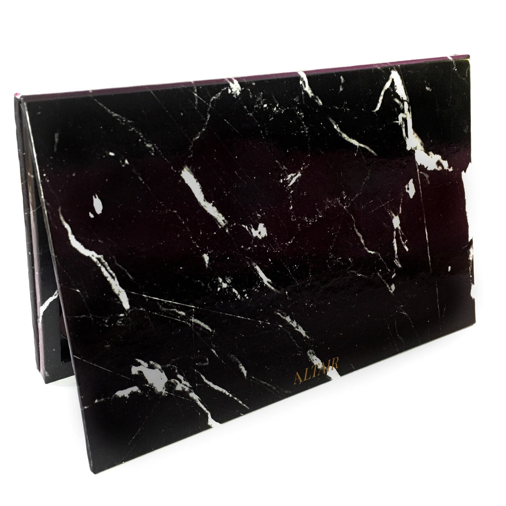 Black Marble Large Altair Empty Magnetic Palette