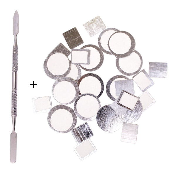 Depot Spatula + Metal Stickers - 40pcs