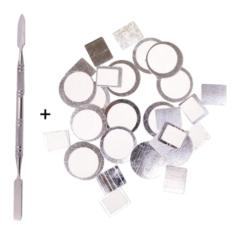 Depot Spatula + Metal Stickers - 30pcs