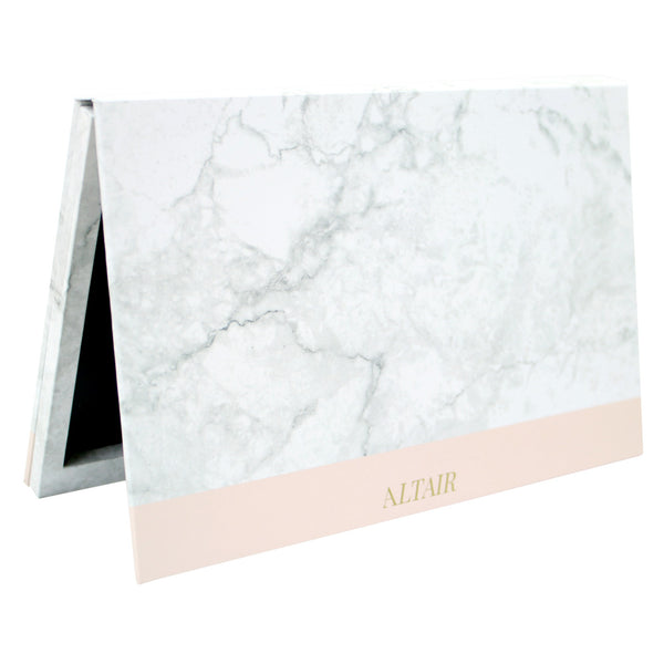 Slight Cosmetic Flaws SALE!  Marble Large Altair Empty Magnetic Palette