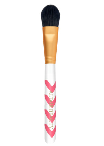 Pink Chevron Foundation Brush